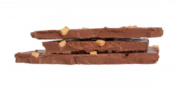 Bruch Chocolade Karamell 100g