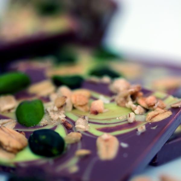 Pistazie & Knusper-Müsli | cuvée chocolade