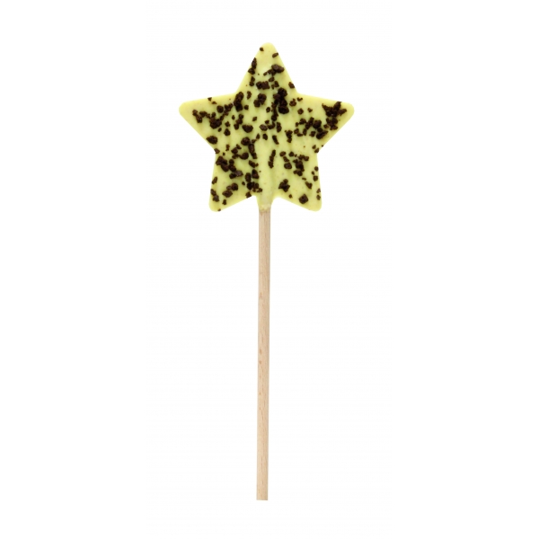 Sterne Lolly - Orange Lebkuchen