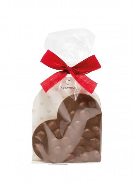Nuss an Nuss Chocoladenherz