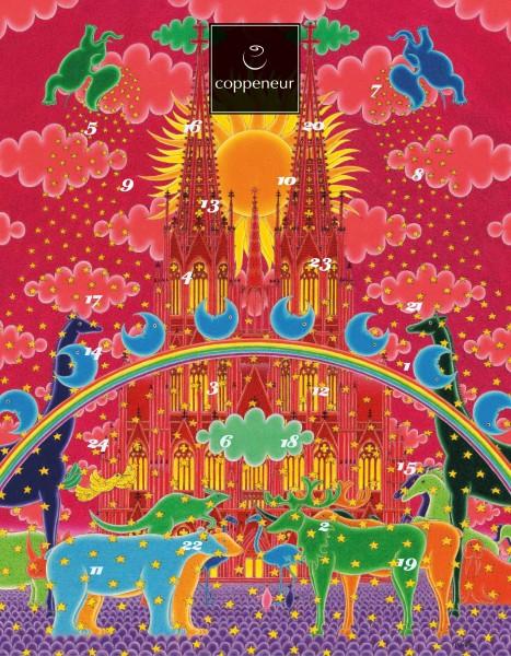 Künstlerkalender Domparade Mini Nougat Pralinés