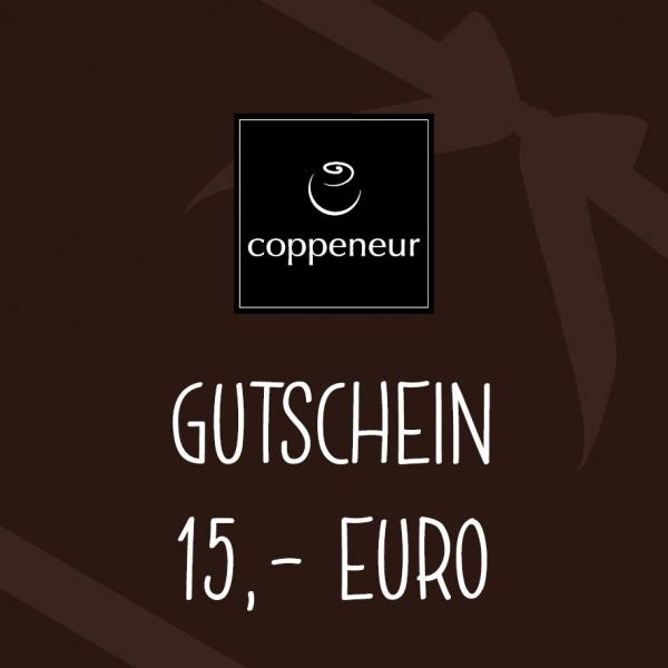 GUTSCHEIN (Wert: 15,00 €)