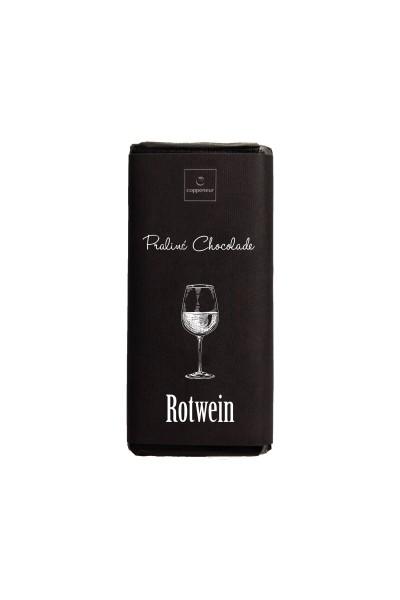 Rotwein Praliné Chocolade
