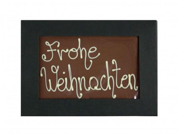 """Chocolade """"Frohe Weihnachten"""""""