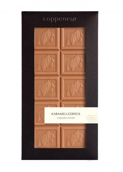 85g Chocolade Tafel Karamellgebäck