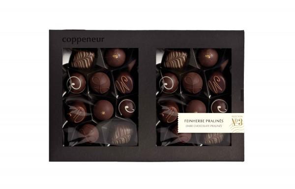 20er Feinherbe Pralinés in dunkler Chocolade