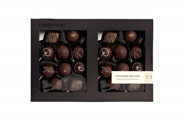 20er Selecion Feinherbe Pralinés in dunkler Chocolade