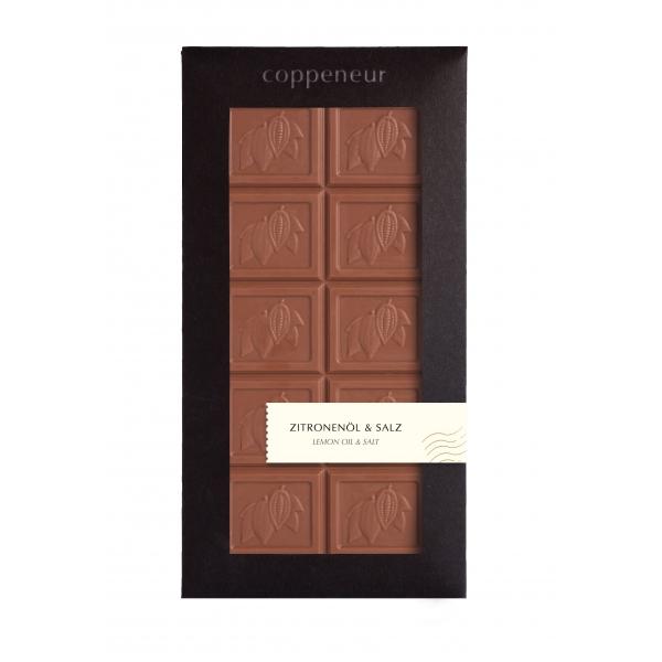85g Chocolade Tafel Zitronenöl&Salz