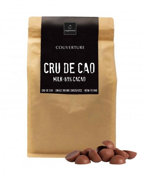 Couverture CRU DE CAO 61% 1,5kg BIO