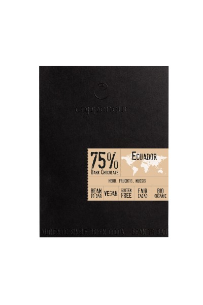 Cru de Cao Ecuador 75% BIO