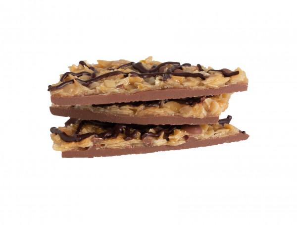 Bruch Chocolade Florentiner Gebäck