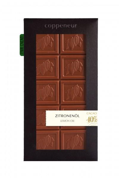 85g Chocolade Tafel Zitronenöl