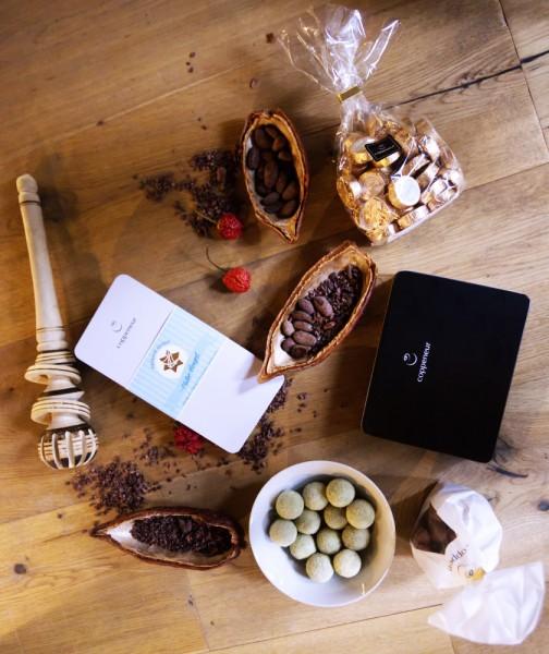 Coppeneur Chocolate Discovery Club Jahresabo (12 Lieferungen)