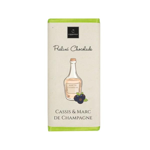 Praliné Chocolade Cassis & Marc de Champagne