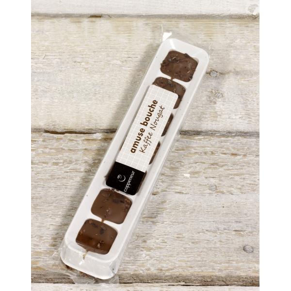 Café Nougat | amuse bouche chocolade