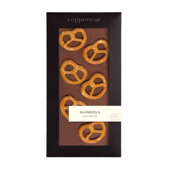 85g Chocolade Tafel Salzbrezel