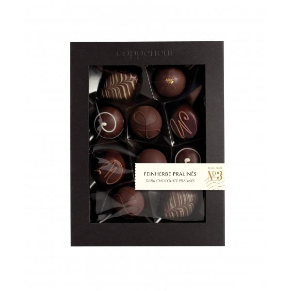 10er Selection - Feinherbe Pralinés No3 in dunkler Schokolade