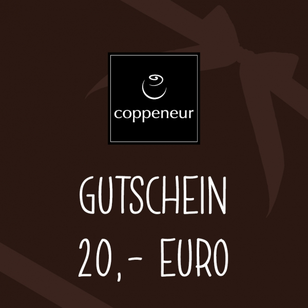 GUTSCHEIN (Wert: 20,00 €)