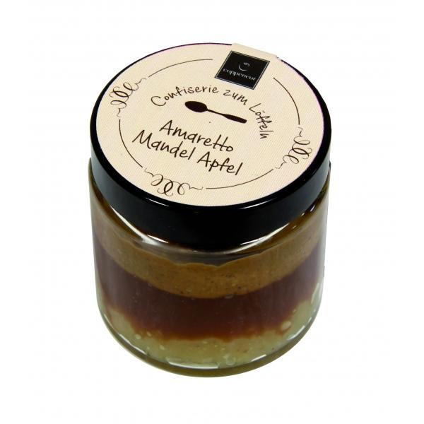 Confiserie zum Löffeln - Amaretto Mandel Apfel
