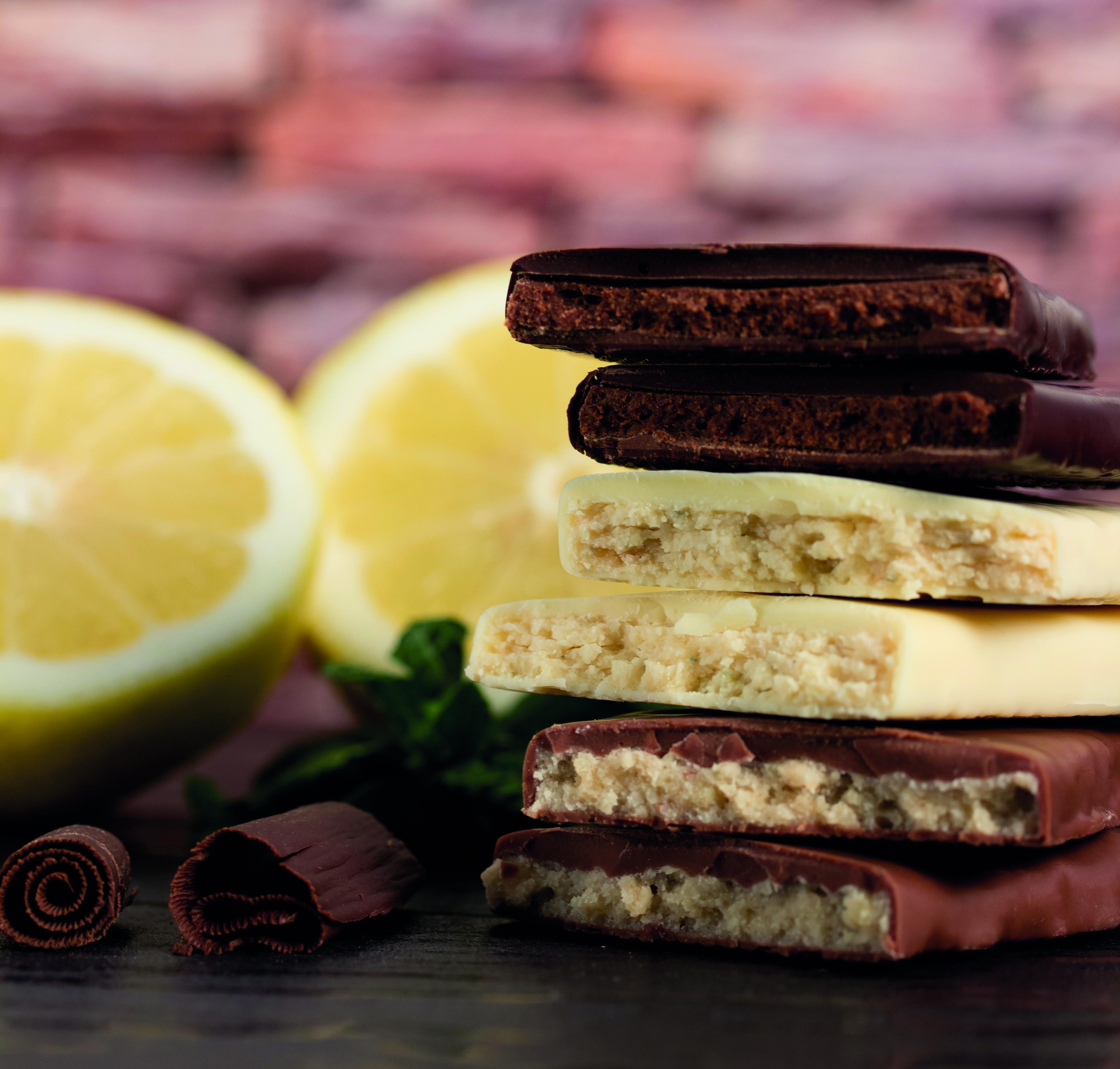 Praliné-Chocoladen