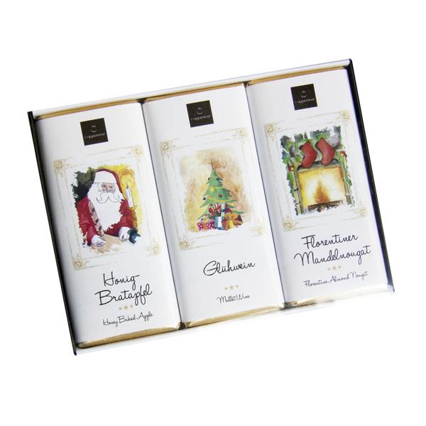 Praliné-Chocoladen, Geschenkset - mit Alkohol