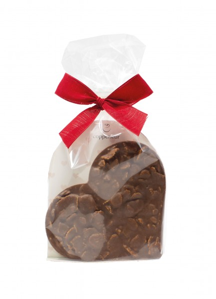Knusperflakes Chocoladenherz