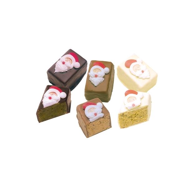 "Mini-Pasteten ""Santa Claus"" 3er Set"