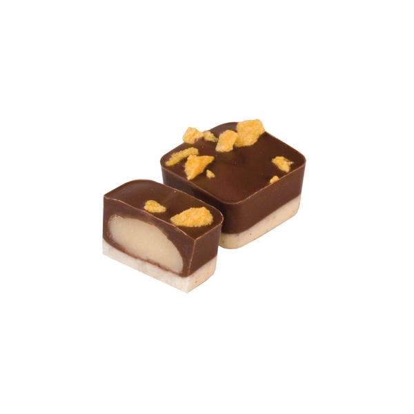 Maracuja Vanille | amuse bouche chocolade