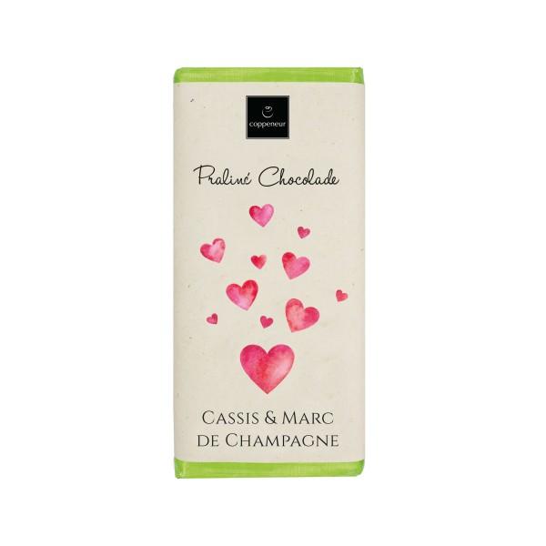 Praliné Tafel Cassis & Marc de Champagne