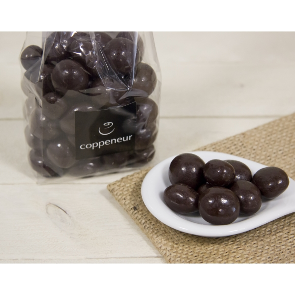 Ingwer-Kugel in Zartbitterschokolade