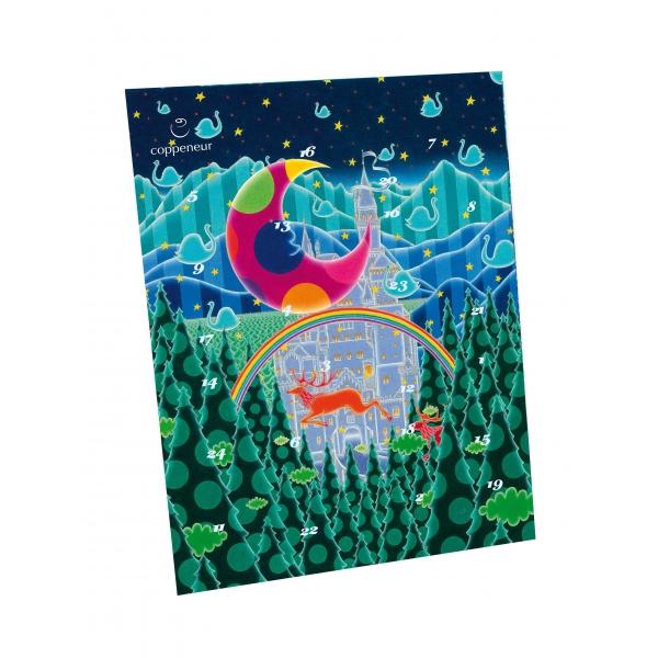 Künstlerkalender Luftschloss Mini Nougat Pralinés